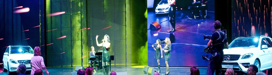 Mercedes Benz Daimler IAA Rhein-Main Abend 2011 VIP Abend Show Jennifer Rush SANDBURG event production support